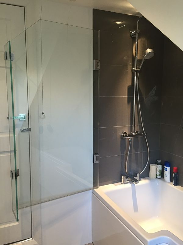 over bath shower screens made to measure bespoke bath over bath shower screens ebay
