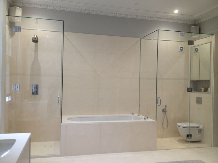 Over Bath Showers Screens