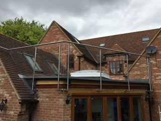 Bespoke Glass Balcony Windsor