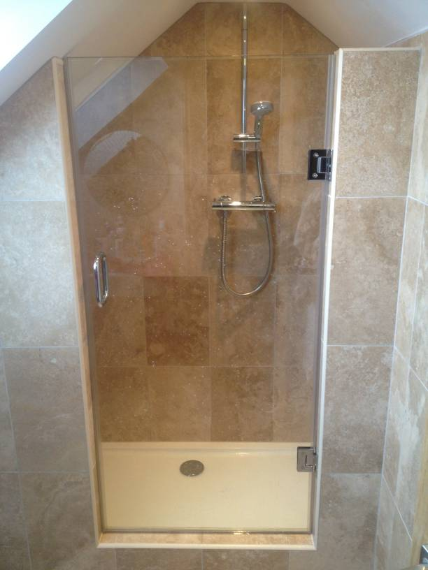 Loft Amp Sloping Ceiling Showers Glass360 Specialist And