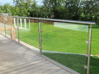 Glass balustrade Windsor