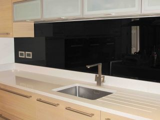 Coloured Glass Splashbacks - Glass360.co.uk