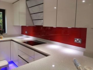 Red Splashback Chalfont
