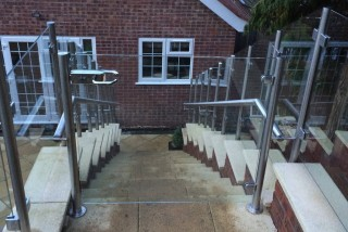 Glass Stair Balustrade Berkshire