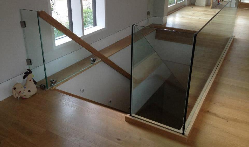 Glass Stair Balustrade Glass360 Bespoke Frameless Glass