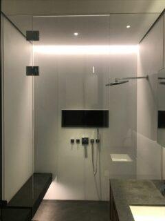 Glass 360 Bespoke Modern Shower Enclosure Hinged Door 9