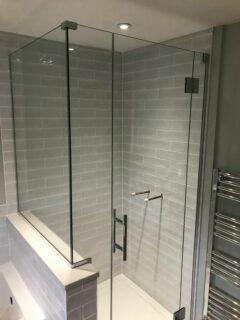 Glass 360 Custom Shower Hinged Door Enclosure 2