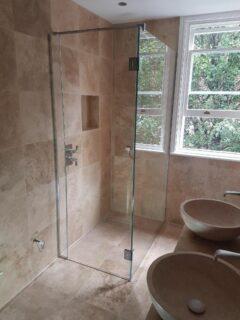 Glass 360 Custom Shower Hinged Door Enclosure 3