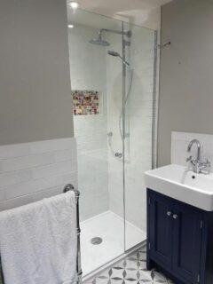 Glass 360 Custom Shower Hinged Door Enclosure 4