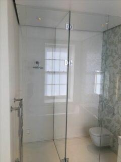 Glass 360 Custom Shower Hinged Door Enclosure 5