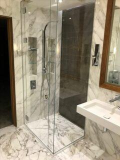 Glass 360 Custom Shower Hinged Door Enclosure 7